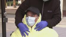 Venció al coronavirus tras cinco meses en el hospital y ahora pide a la comunidad no bajar la guardia