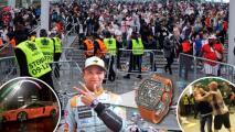 Lando Norris fue asaltado tras la Final de la Euro al salir de Wembley