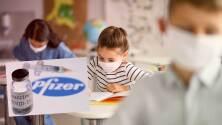 Pfizer anuncia que vacuna para niños entre 5 y 11 años es segura