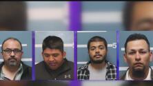 Arrestan a cuatro sospechosos señalados por tráfico humano en el condado de Tulare, en California