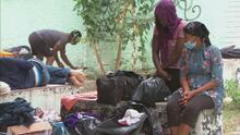 Incertidumbre en el campamento de refugiados haitianos por la presencia de autoridades mexicanas