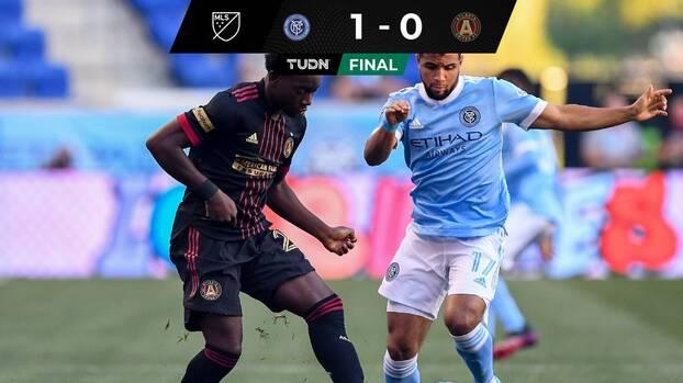 NYCFC corta la racha invicta del Atlanta United de Gabriel Heinze