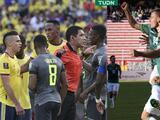 Bolivia golea y se mete a la pelea; Colombia y Ecuador empatan