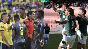 ¡Polémico! VAR le quita agónico triunfo a Colombia; Bolivia golea y vive