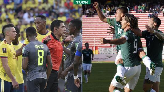 ¡Vaya polémica! El VAR silencia a Colombia y Bolivia golea en la altura