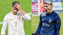 Alan Pulido elogia a Álvaro Morata y después lo justifica
