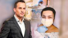 Vanessa Lyon, pareja de Carlitos Calderón, aclara que su bebé no nació prematuro y no está en incubadora