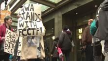 Inicia huelga de los Colegios Comunitarios de Chicago en el Día Internacional del Trabajo