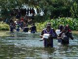 La desesperación de los haitianos en México