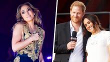 El glamour de JLo y Meghan Markle y el príncipe Harry en 'rockstars': así pidieron más vacunas en Global Citizen 2021