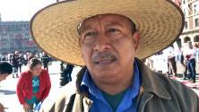 """""""El pueblo tiene mucha esperanza de que va a haber justicia y un cambio radical"""", dice seguidor de AMLO"""