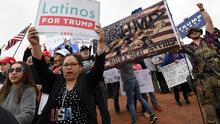 The mystery of the Latino Trumper