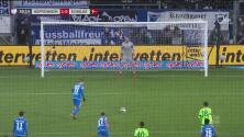 Kramaric desde el punto de penal pone el 1-0 del Hoffenheim ante el Schalke