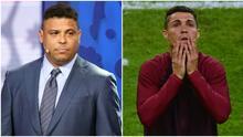 Ronaldo Nazario deja fuera de su once ideal a Cristiano Ronaldo
