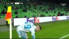 ¡GOL!  anota para Dinamo Zagreb. Bruno Petkovic