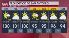 Se espera un día más de intenso calor en San Antonio