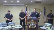 Decomisan cargamento millonario de droga en el condado Williamson