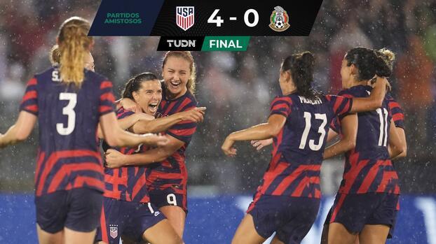 Team USA aplasta a México en amistoso rumbo a Tokyo 2020
