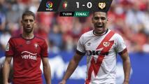 Radamel Falcao y el Rayo Vallecano se llevan un duro revés