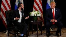 """""""Es simpático y 'cool' y los dos usamos mucho Twitter"""": el bromance entre Bukele y Trump"""