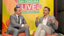 """""""Están haciendo lo correcto"""": el diputado Sergio Mayer entiende a la viuda de José José y a Sarita Sosa"""