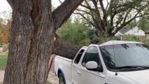 Vuelven los fuertes vientos que provocan accidentes, cierres de caminos y cortes de luz