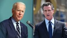 Expectativa en el sur de California por llegada de Biden para apoyar a Newsom a horas de la elección revocatoria