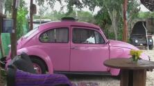 De chatarra a un hotel ecológico con todas las comodidades: un emprendimiento sobre ruedas en Yucatán, México
