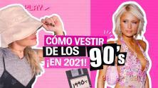 Cómo vestir de los 90's en 2021 | La Insider