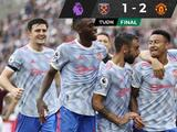 Cristiano Ronaldo encabeza remontada del Manchester United sobre el West Ham