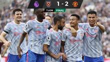 CR7 inicia remontada Manchester United ante el West Ham