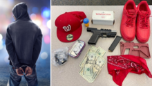 Arrestan a tres presuntos pandilleros que usaban accesorios rojos en Santa Rosa
