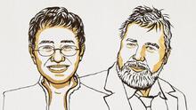 Los periodistas Maria Ressa, de Filipinas, y Dmitry Muratov, de Rusia, ganan el Nobel de la Paz por su lucha por la libertad de expresión