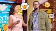 ¿Por qué las naranjas no tienen cuernos? Ana Patricia llegó estrenando chistes