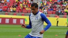Honduras se refuerza con delantero para enfrentar a México