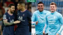 PSG y Real Madrid no se guardan nada... las alineaciones para Champions