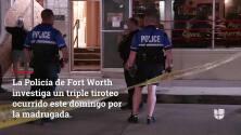 Una balacera cerca de un bar deja tres personas heridas en Fort Worth