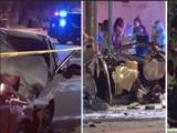 Arrestan a dos jóvenes tras choque por presunta carrera callejera que mató a tres personas en Burbank