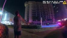 Gritos de ayuda y testigos en shock: las claves del colapso del edificio en Surfside que revelan los videos de la policía