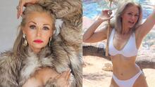 Tiene 57 años, es modelo de bikinis y rompe todos los prejuicios de la edad