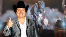 Julión Álvarez se presentó en concierto en Tijuana con Julio César Chávez como invitado de honor