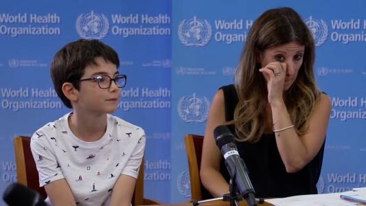La pregunta de un niño sobre la pandemia que sacó lágrimas a funcionaria de la OMS