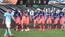El Atlético, con doblete de Correa, venció al Celta de Araujo