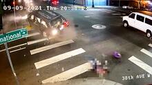 Choque en Oakland deja 10 heridos, entre ellos niños que salieron expulsados de un vehículo