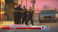 Dos personas baleadas en N.W. Miami
