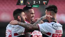 Rigoni y Luciano dan triunfo a Sao Paulo sobre Goianiense