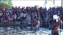 Estados Unidos enfrenta crisis humanitaria con ola de migrantes indocumentados en Del Río, Texas