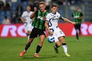Edin Dzeko y Lautaro Martínez fueron los culpables de la remontada del Inter 1-2 sobre el Sassuolo.