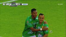 ¡Goool de León! Luis Montes abre el marcador y el Nou Camp estalla