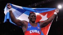 Luchador cubano Mijaín López logró su cuarto oro olímpico
